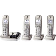 Panasonic Kx-tgd224n Dect 6.0 Plus Expandable Digital Cordless Answering System (4-handset System)