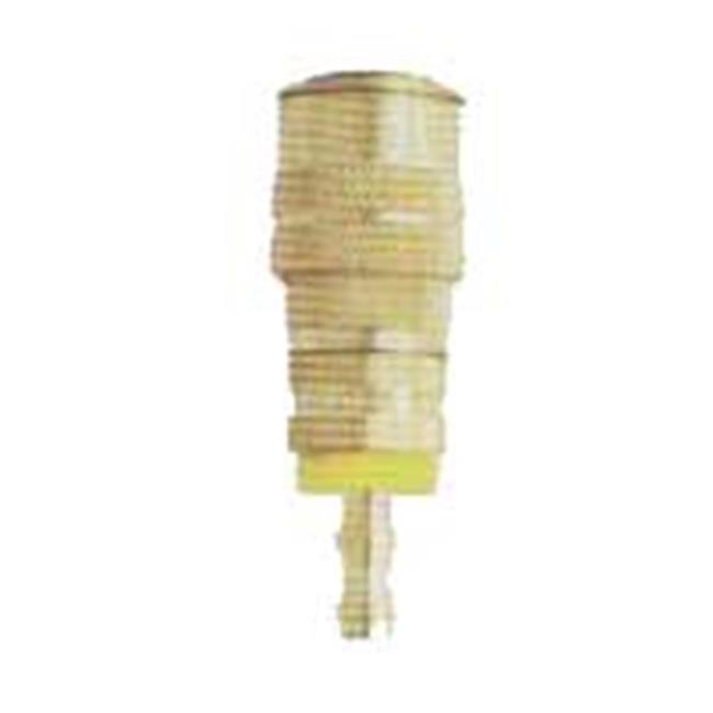 MIL-1717-6 Coupler 0.37 in. Push On & Lock Hose Barb