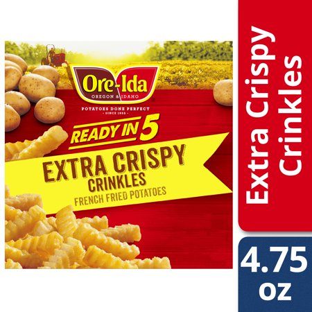 Ore Ida Easy Fries Golden Crinkles 4 75 Oz Box