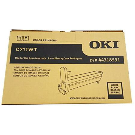 Okidata C711WT White Toner Drum - Genuine Okidata 44318531