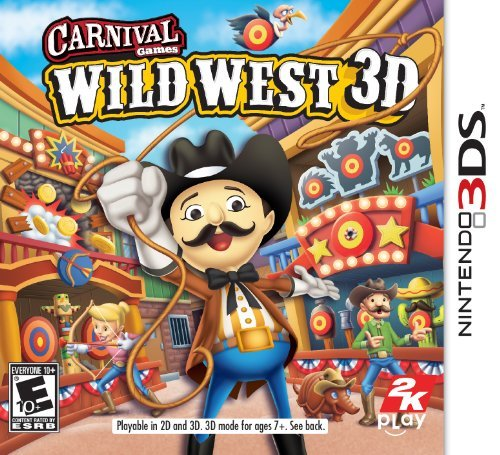Taketwo Interactive 45099 Carnival Games: Wild West 3ds