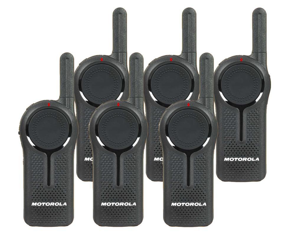 Motorola DLR1020 Digital 1 Watt 2 Channel Radio 6 Pack by Motorola Solutions