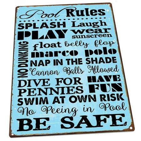 Pool Rules 9