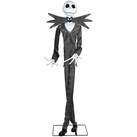 Jack Skeleton Decorations (Way to Celebrate Halloween Multicolor Animated Jack Skellington Decoration (6)