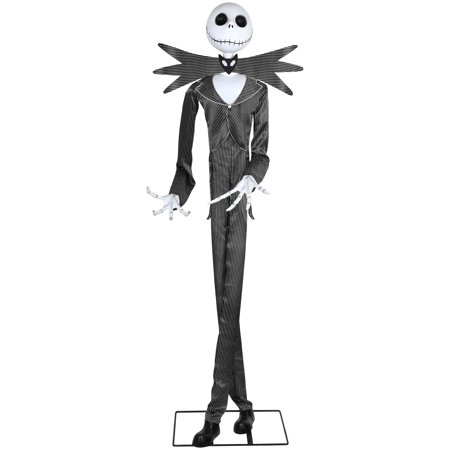 Easy Outdoor Halloween Decorations Pinterest (Way to Celebrate Halloween Multicolor Animated Jack Skellington Decoration (6)