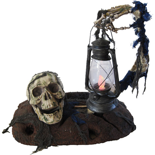 3' Halloween Ground Breaker with Lantern