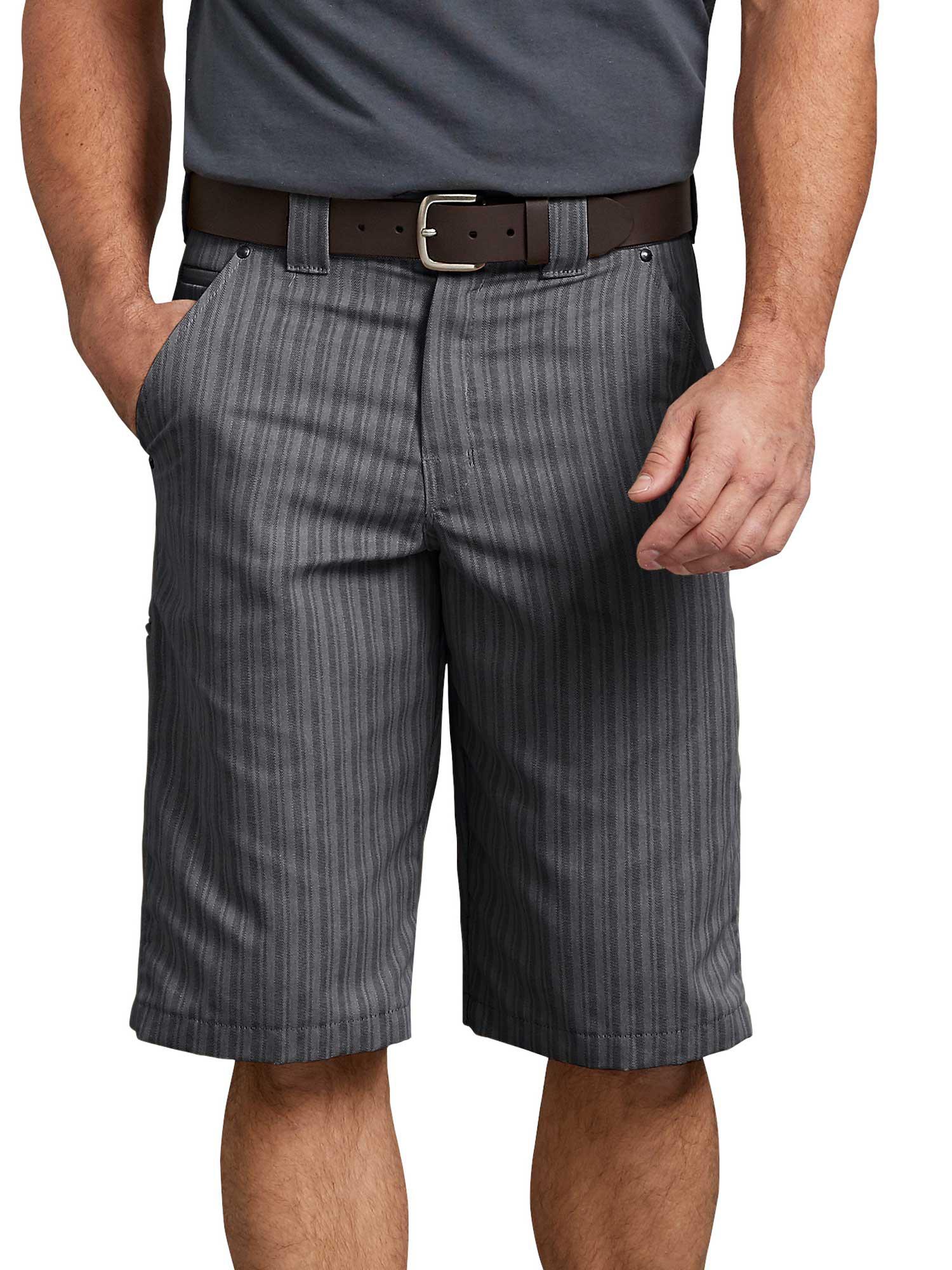 "Men's 13"" Regular Fit Shadow Stripe Shorts"