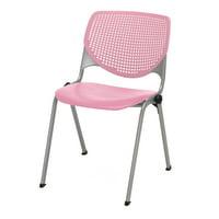 KFI KOOL Armless Guest Stack Chair, 400lb Capacity