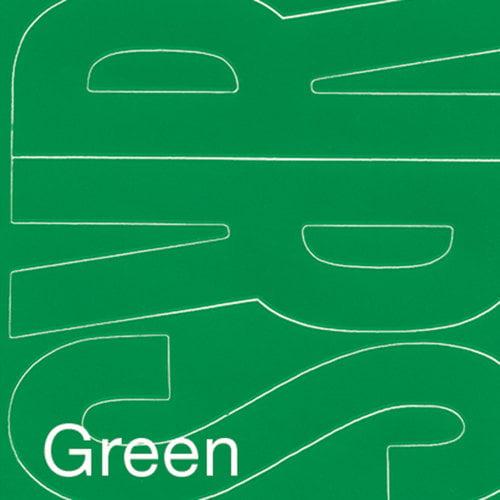 "Permanent Adhesive Vinyl Letters, 6"", 94pk, Green"