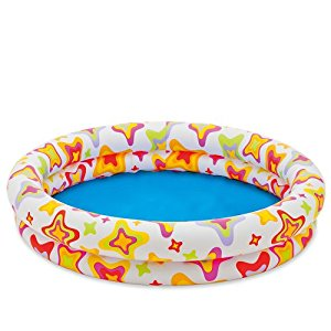 "48"" X 10"" Inflatable Stars Kiddie 2 Ring Circles Swimming Pool By Intex by Intex"