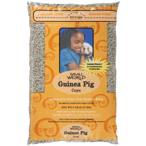 Small World: Complete Feed For Guinea Pigs Guinea Pig, 5 lb