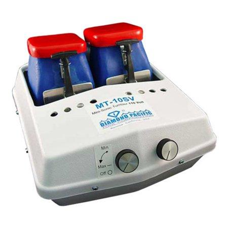 Diamond Pacific Mt 10 Mini Sonic Vibrating Rock Tumbler   2 Hoppers