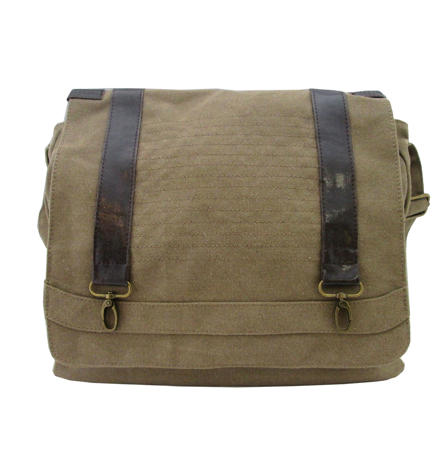 Olivia Miller Canvas Messenger Bag