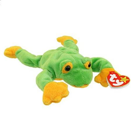 Swarovski Baby Frog (Ty Beanie Babies - Smoochy the Frog )