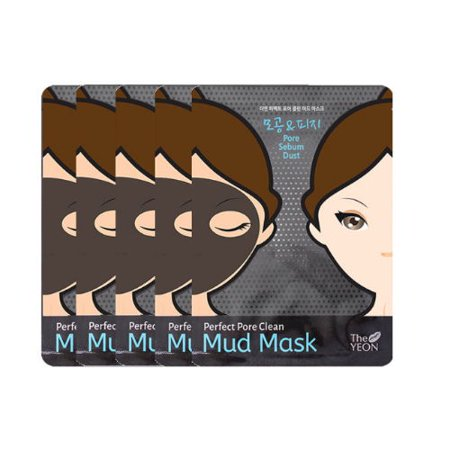 The Yeon Perfect Pore Clean Mud Mask Pack Of 5