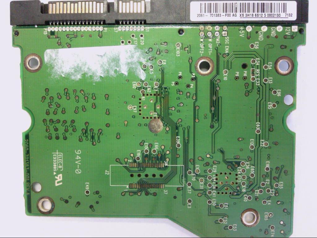 WD5000KS-00MNB0, 2061-701383-F00 AG, WD SATA 3 5 PCB