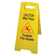 Winco - WCS-25 - Wet Floor Caution Sign