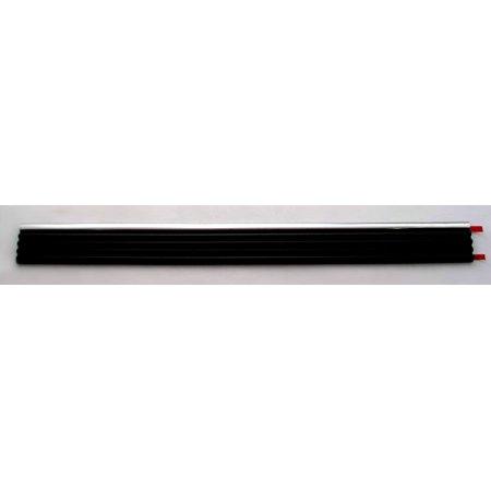 - OEM Driver Lower Rear Body Side Molding GM 15740098 Black & Chrome 685.80mm 27