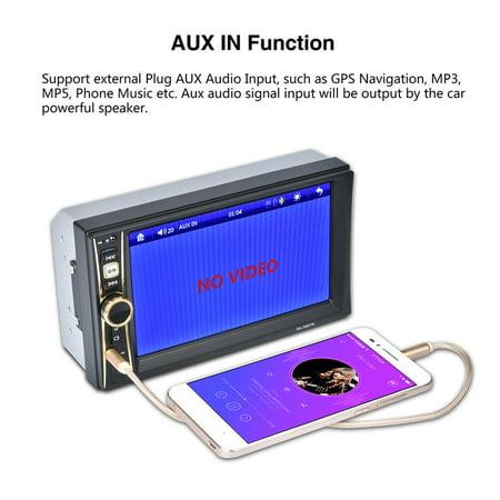 6.6 Inch Touch Screen Digital Stereo Radio HD Display Auto Car MP5 MP3