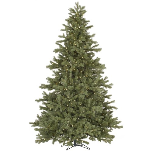 The Holiday Aisle 14' Frasier Fir Christmas Tree with 3550 LED Warm White Lights