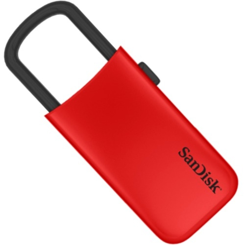 SanDisk Cruzer 8GB USB Drive, Red