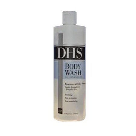Dhs Body Wash Mild Cleanser, Unscented - 16 Oz (Body Wash Cleanser)