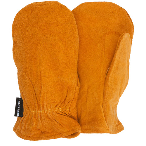 QuietWear Split-Leather Thinsulate Mittens