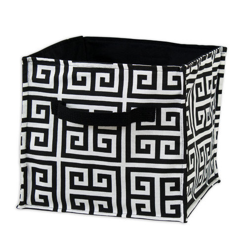 Brite Ideas Living Towers Black Soft Sided Storage Bin
