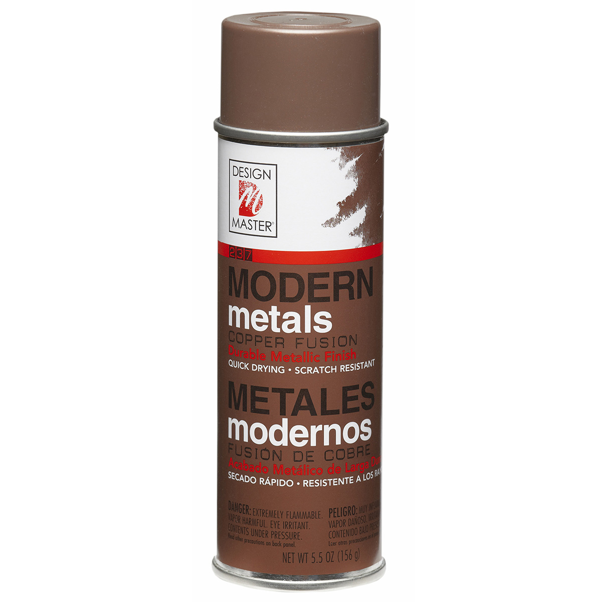 Design Master Modern Metals Spray Paint-Copper Fusion