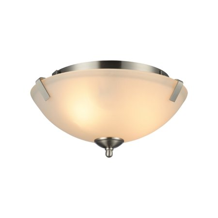 Forte Lighting Nickel Pendant - CHLOE Lighting ULLA Transitional 1 Light Brushed Nickel Mini Pendant 4