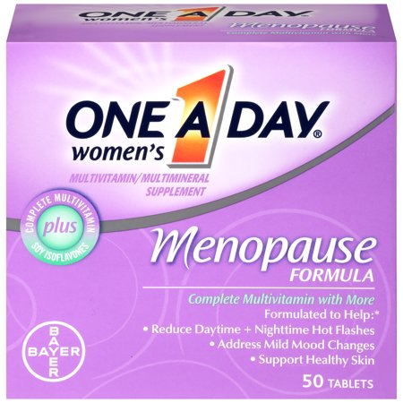 One A Day Women's Menopause Formula Multivitamin Supplement, 50 Count Day Womens Advanced Formula