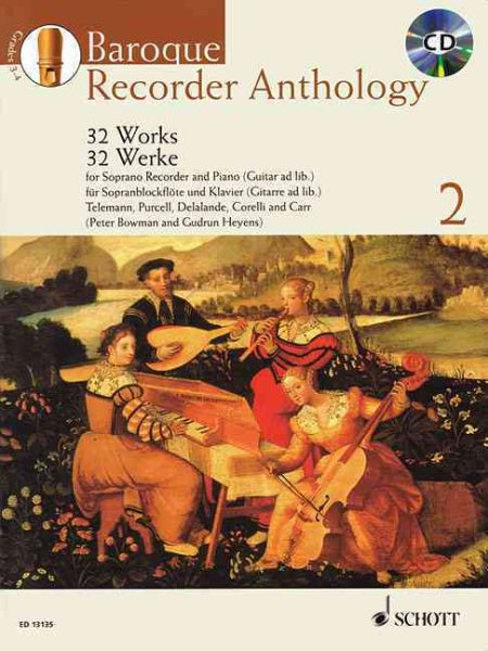 Baroque Recorder Anthology by