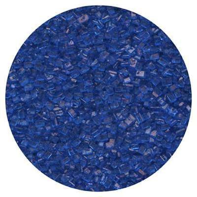 Royal Blue Sugar Crystals 4 oz - National Cake Supply Blue Sugar Crystals