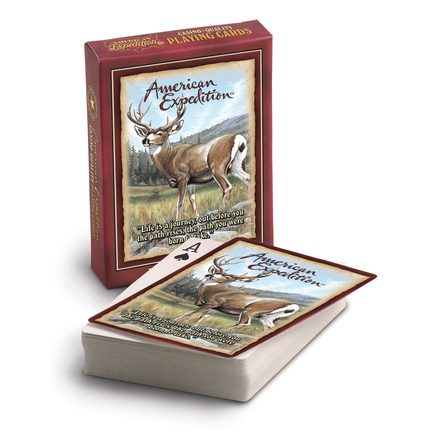 American Expedition Playing Cards - Mule Deer
