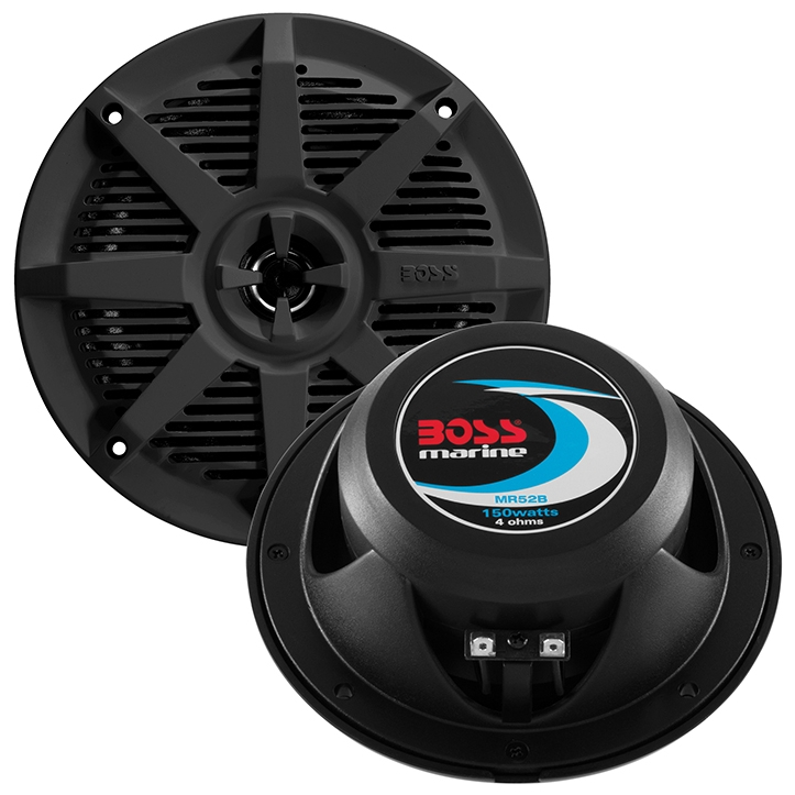 Boat Speakers Waterproof, 5.25-inch 2-way Marine Waterproof Speakers For Boat