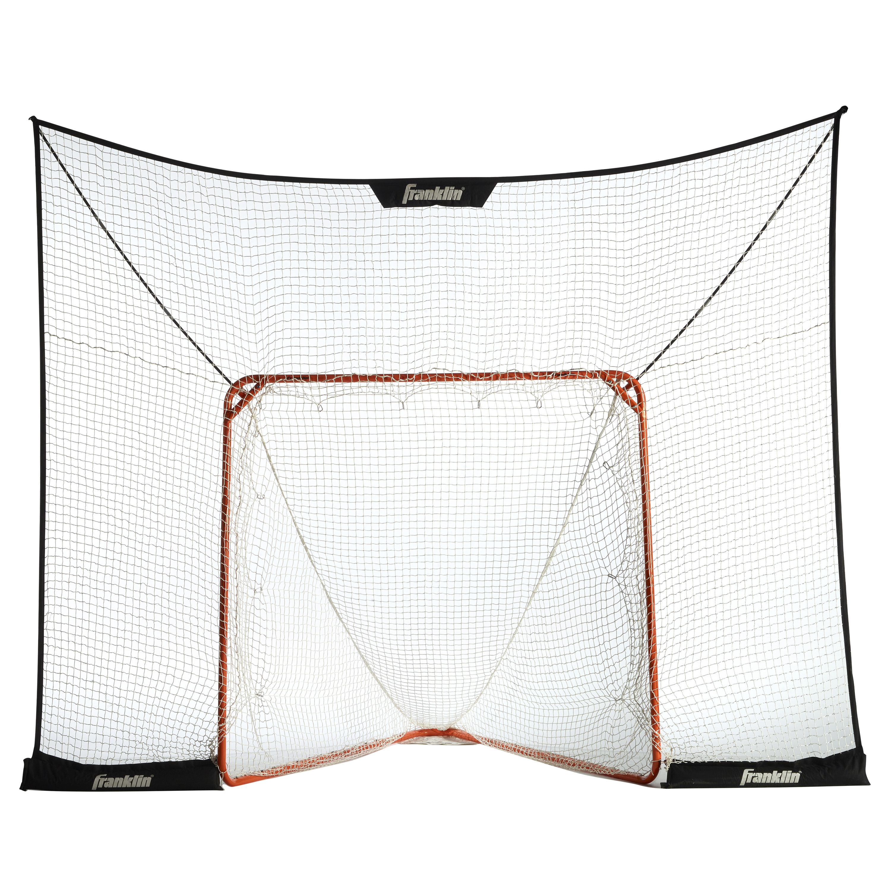 Franklin Sports Fiber-Tech Lacrosse Goal Backstop - 12' x 9'