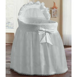 Precious Bassinet Liner Skirt & Hood by Ababy