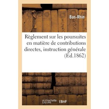 R�glement Sur Les Poursuites En Mati�re de Contributions Directes : Instruction G�n�rale (Les Stations De Radio En Direct En Haiti)