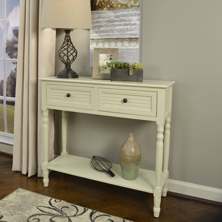 Better Homes And Gardens Shutter 2 Drawer Console Table Multiple Colors Best Accent Tables