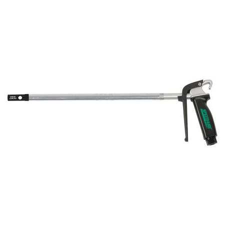 "Speedaire 2TEJ1 Aluminum and Black Air Gun 18-1 2""L by SPEEDAIRE"