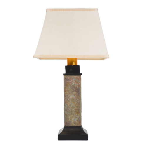 Good Torch Light ST913B Wireless All Weather Table Lamp, Natural Slate