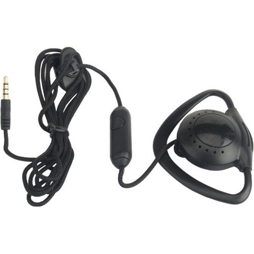 ZCOVER ZUPT3QCK BLACK PUSH-TO-TALK EAR-MIC-