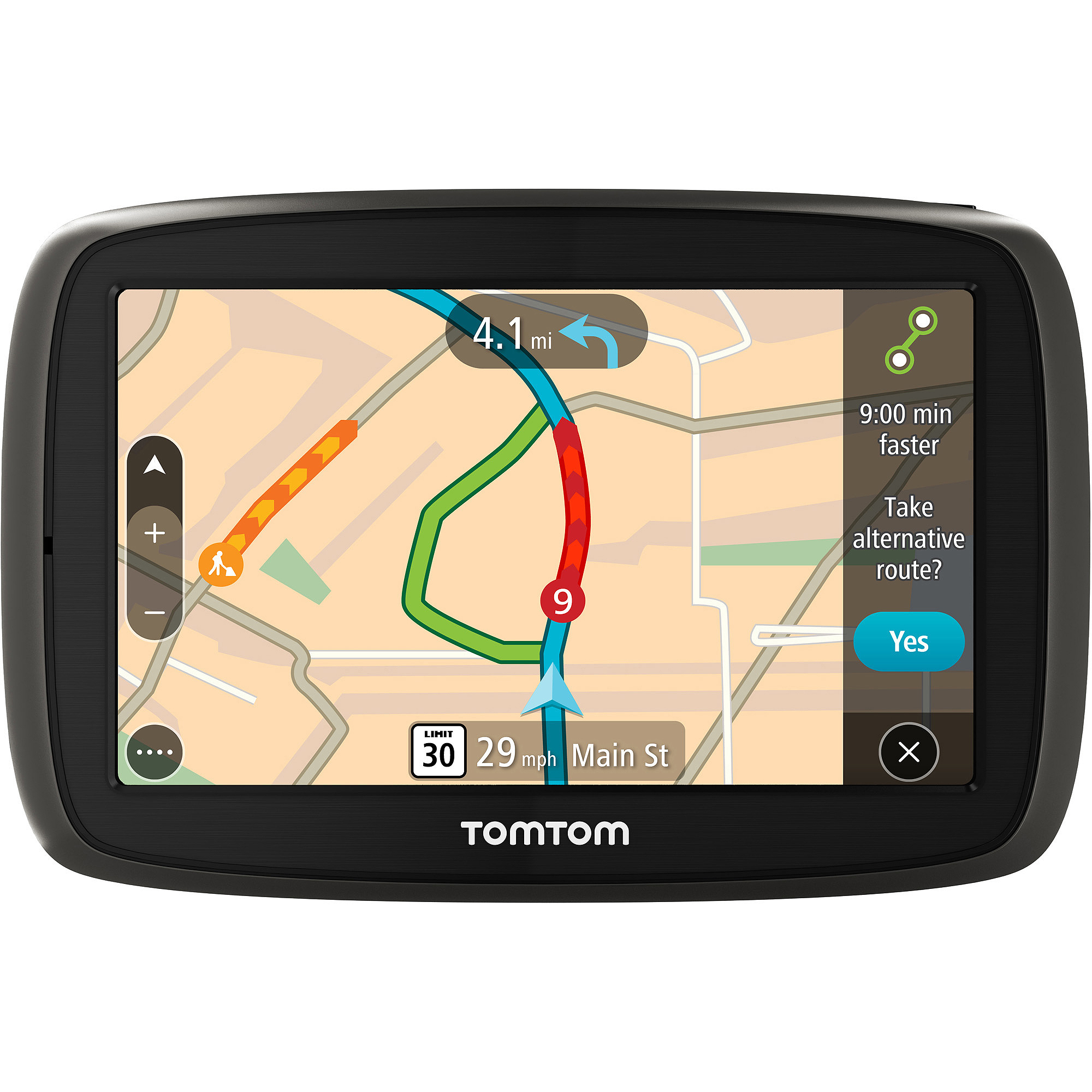 """TomTom GO 60 S 6"""" GPS with Lifetime Map and Traffic Updates"""