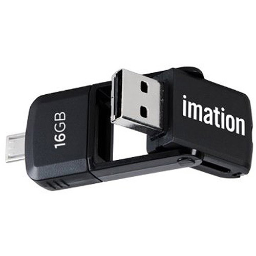Imation 16GB 2-in-1 microUSB Flash Drive