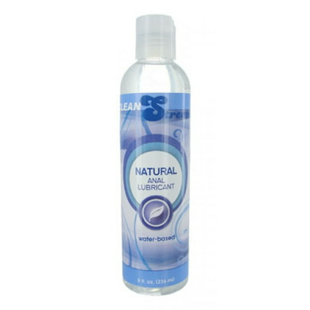 Natural H2O-Based Anal Lube - 8 Oz. (Best Thing To Use As Lube)