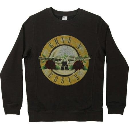 Drum Sweatshirt - Guns N Roses Men's  Drum Sweatshirt Black