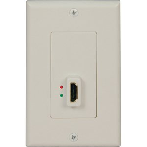 Tripp Lite Wall Plate (Tripp Lite HDMI Display-Side Wallplate with Active Signal Booster F/F P166001A)