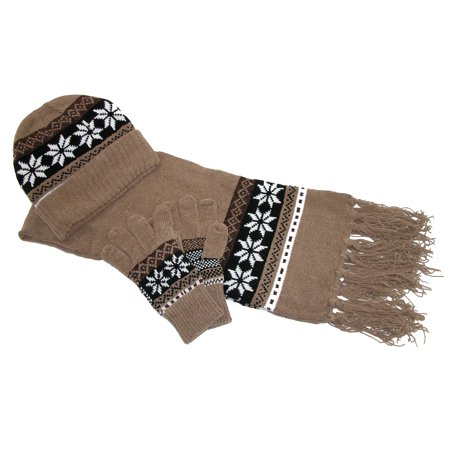 Great for you or for a gift, our coordinated women's winter sets offer stylish glove, scarf and hat combinations to fit any weather and wardrobe. Choose from three piece winter sets or two piece winter sets in a variety of colors.