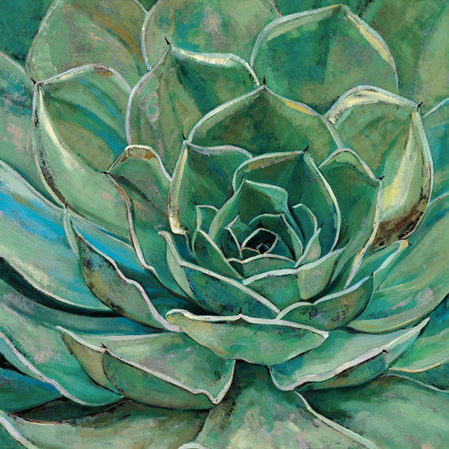 "Portfolio Canvas Decor ""Agave Bloom"" by Elinor Luna Framed and Stretched Ready-to-Hang Canvas Wall Art"