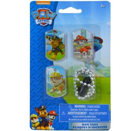Nick Jr Paw Patrol Dog Tags - Set of - Nick Jr Halloween 2017
